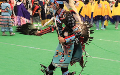 Four Bears Pow Wow Brings Good Spirits to the People