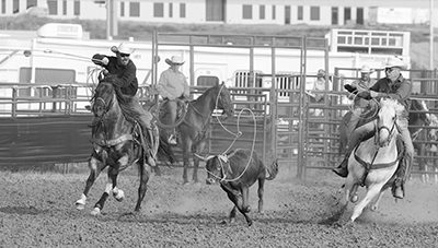 Hot Rodeo Action in Mandaree