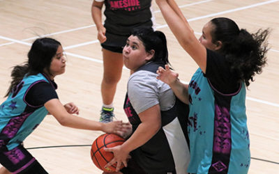 Rockettes Shootout Sparks Many Exciting Ball Games